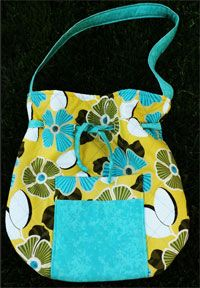 My Sassy Bag Pattern by Sew & Sew Quilts and Fabrics at KayeWood.com. Feel a little Sassy when you carry this cute bag with lots of pockets and a little pizzazz! http://kayewood.com/My-Sassy-Bag-Pattern-by-Pieceful-Patches-PP-MYSA.htm $8.00