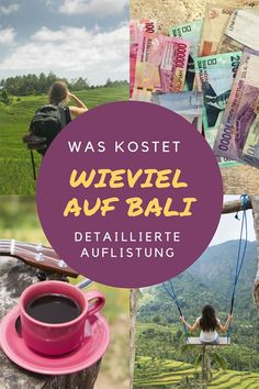 Was kostet mich ein Bali Urlaub? Wie teuer sind Bali Unterkünfte im Schnitt? Wa… How much does a Bali vacation cost me? How Expensive Are Bali Accommodations On Average? What do you pay for diving, surfing or massages? One thing… Continue reading → Europe Destinations, Europe Travel Tips, Honeymoon Destinations, Holiday Destinations, Bali Lombok, Voyage Bali, Destination Voyage, Ubud, Mykonos