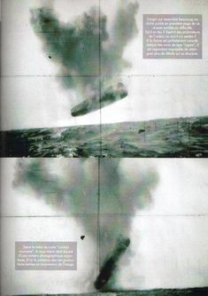 images from the 1971USS TrepangArctic expedition UFO sighting