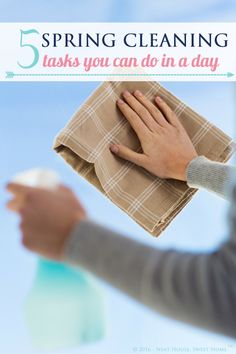 5 Spring Cleaning Tasks You Can Do in a Day – Week 12