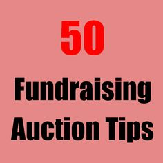 At charity events, the fundraising auction activity is what raises the most money. Here are 50 fundraising auction tips to help you maximize your success with advice on both live and silent auctions, plus how to blend them together for best results. Auction Donations, Silent Auction Baskets, Fundraising Events, Fundraising Ideas, Fundraiser Event, Fundraising Companies, School Auction, School Staff, Sunday School