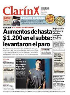 Aumentos de hasta 1.200 en el subte: levantaron el paro. Más información: http://www.clarin.com/politica/titulo_0_704929525.html