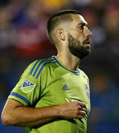 national team star Clint Dempsey has been left out of recent U. squads, but insists he isn't worried about his national team future. Clint Dempsey, Idol, No Worries, Eye Candy, This Is Us, Soccer, Baseball Cards, Sports, Mens Tops