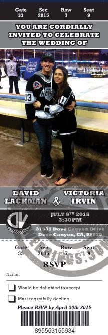 Cool Wedding Invitation Blog Hockey Themed Wedding Invitations