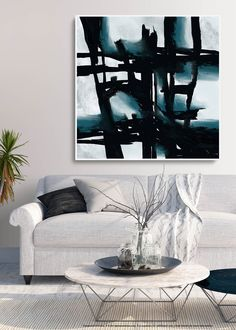 Extra Large Wall art - Abstract Painting on Canvas, Contemporary Art, Original Oversize Painting Large Artwork, Extra Large Wall Art, Large Painting, Modern Wall Art, Contemporary Art, Original Art, Original Paintings, Black White Art, Abstract Canvas Art