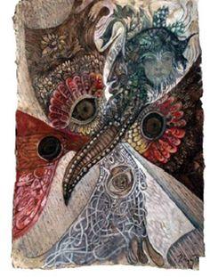 Dziewanna wcielona w swojego motyla Rusałkę
