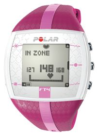Polar FT4 Female Heart Rate Monitor Purple/Pink The FT4 heart rate monitor helps you exercise smarter with its easy-to-use heart rate based features. Perfect for active exercisers who want to track their intensity and calories burned during any activity #VSSummerSweepstakes #Runearly #Runoften