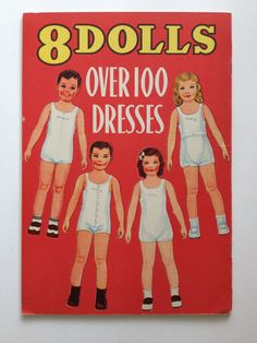 RARE Uncut Vintage 1939 Queen Holden Paper Doll Book 8 Dolls Over 100 Dresses   eBay