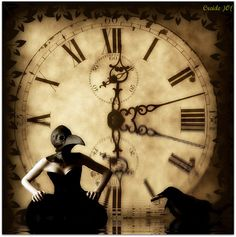 """""""The death clock is ticking slowly in our breast, and each drop of blood measures its time, and our life is a lingering fever.""""  - Georg Buchner"""