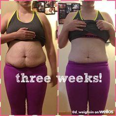 Jillian Michaels Body Revolution is working wonders! Three weeks in~  #weilos