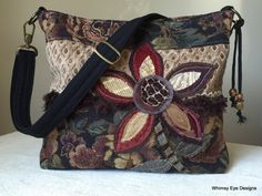 RESERVED FOR VICKIE-Upcycled Crossbody by WhimsyEyeDesigns on Etsy