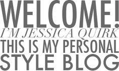 Personal Style Blog, Jessica Quirk, What I Wore