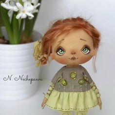 Dolls by N. Nechepaeva
