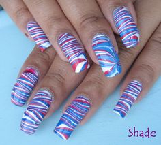 nail art designs 4th of july - Google Search