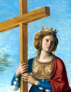 Saint Helena pray for us and against thunder and fire and for converts, divorced people and archaeologists.  Feast day August 18.