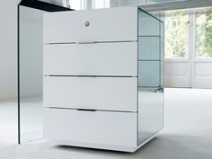 Office drawer unit with Casters PRESIDENT President Collection by Gallotti&Radice