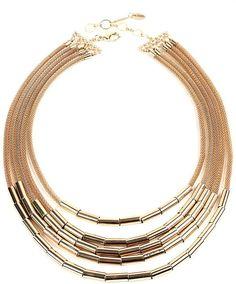 8a747acfdea9 Amrita Singh 5-Layer Necklace Collar De Hebras