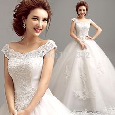 >> Click to Buy << s 2016 New stock bridal gown plus size  women  wedding dress Sexy Ball Gown Sweetheart  Gowns #Affiliate