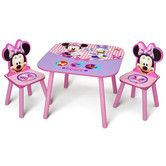 Found it at Wayfair - Minnie Mouse Kid's 3 Piece Table and Chair Set