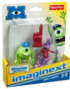 $13.49Amazon.com: Imaginext Disney Pixar Monsters University Mike & Randy: Toys & Games