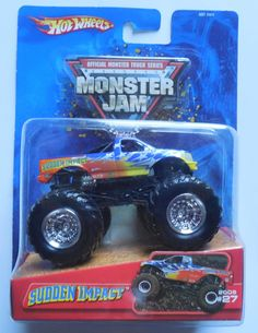 2005 Hot Wheels Monster Jam #27 Sudden Impact 1:64 Truck Ford Grill Version #HotWheels #27SuddenImpact