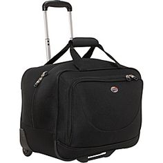 American Tourister Splash Wheeled Boarding Bag - Black - via eBags.com!