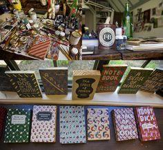 Leanne Shapton wooden books.