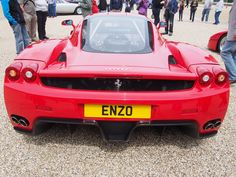 EN 20 displayed as ENZO on a Ferrari Enzo of course