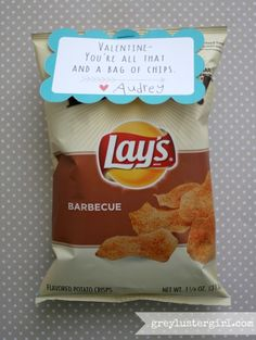 Chips Valentine for kids