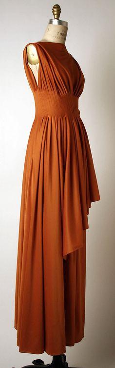 Evening pantsuit Madame Grès (Alix Barton) (French, Paris 1903–1993 Var region) Date: ca. 1975 Culture: French Medium: silk