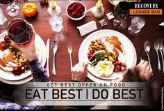 GET BEST OFFERS ON #FOOD  🍲🥘🍔🍗  Eat Best | Do Best ☠️ #Discount Recovery Lounge & Bar🍾 Unit of Hotel Taksonz ⏰ 📞 9872600607