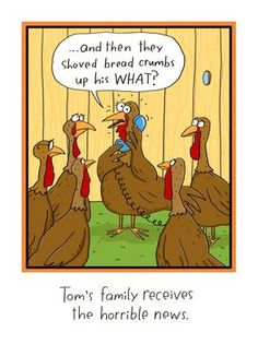 Long-distance Thanksgiving Humor 5x7 Folded Card