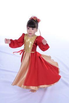 Divine Worshiper Kids Dress. Traje De Danza CristianaPanderoVestidos ... 9e93a12c05c2