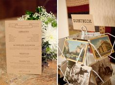 our guestbook: pick a postcard (addressed & stamped), write us a note, mail it when you get home