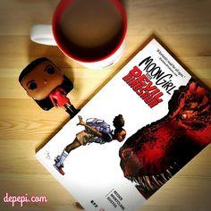 Moon Girl & Devil Dinosaur x Uhura & Coffee  Find all about it on depepi.com (link in profile)  #marvel #marvelcomics #geeklife #funko #funkopop #funkopops #funkofunatic #geek #cute #kawaii