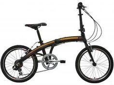 Bicicleta Tito To Go Dobrável Aro 20 7 Marchas - Câmbio Shimano Quadro Alumínio Freio V-brake