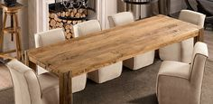 Parsons Reclaimed Russian Oak - Dining Table