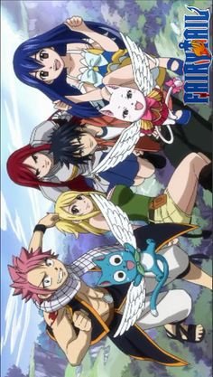 Fairy tail. This is my opinion, but I LOVE the older animation for Fairy Tail.