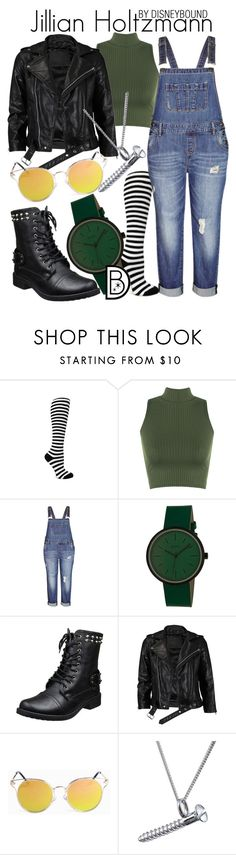 """""""Jillian Holtzmann"""" by leslieakay ❤ liked on Polyvore featuring WearAll, City Chic, Simplify, VIPARO, Edge Only, Halloween, disneybound and ghostbusters"""