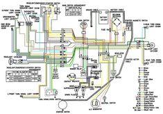 10 Motorcycle Wiring Diagrams Ideas Motorcycle Wiring Diagram Yamaha