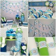 preppy baby shower - Google Search