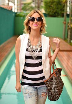 look do dia - grávida - casual - keep a secret blog - listras - lili paiva