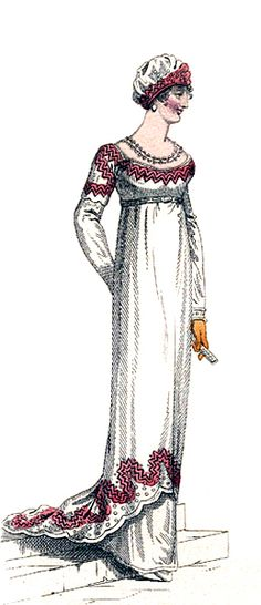 Evening Dress, March 1811.