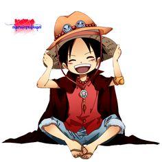 ace luffy   Render Luffy One Piece Mugiwara - One Piece - Animes et Manga - PNG ...