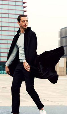 Mens Cape, Cloak, Capes, Menswear, Formal, Random, How To Wear, Style, Fashion