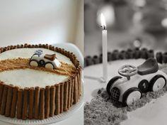 Kuistin kautta: 1-vuotissynttärit: Autokakku  / Vilac / cake / car cake