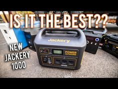 NEW Jackery Explorer 1000 - The JACK of all trades solar generator - off-grid, overlanding, vanlife. - YouTube Solar Panel System, Panel Systems, Solar Panels, Solar Energy, Solar Power, Truck Covers, Dog Pads, Solar Generator, Solar Panel Installation