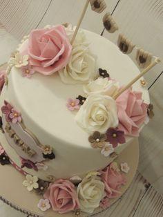Vintage 50th Birthday Cake More