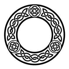 Celtic Border, Celtic Circle, Viking Designs, Celtic Knot Designs, Celtic Symbols, Celtic Art, Celtic Knots, Boarder Designs, Craft Booth Displays