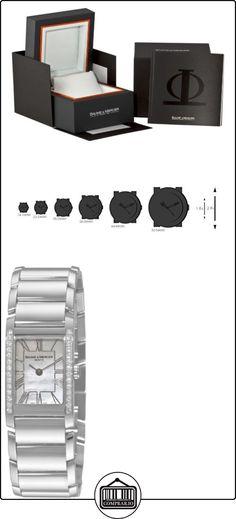 Baume & Mercier 8748 - Reloj de mujer de cuarzo nácar  ✿ Relojes para mujer - (Lujo) ✿